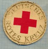 43 - EMBLEMA CRUCEA ROSIE -ROTES KREUZ- GERMANIA -MILITARA? -starea care se vede