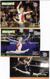 Sport olimpiada Melburne,Beijing,New York sportive gimnastica lot 3 buc, Necirculata, Printata