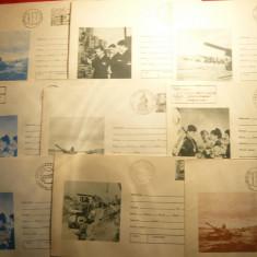 Lot 30 Plicuri Militare ilustrate , circulate ,diverse