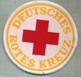 33 - EMBLEMA CRUCEA ROSIE -ROTES KREUZ- GERMANIA -MILITARA? -starea care se vede