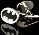 Butoni camasa model White BATMAN  + ambalaj cadou