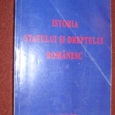 Istoria statului si dreptului romanesc- Ioan Chis - Carte Istoria dreptului