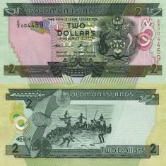 INSULELE SOLOMON 2 dollars 2004 (2013) UNC!!!