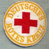 31 - EMBLEMA CRUCEA ROSIE -ROTES KREUZ- GERMANIA -MILITARA? -starea care se vede