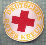 44 - EMBLEMA CRUCEA ROSIE -ROTES KREUZ- GERMANIA -MILITARA? -starea care se vede