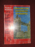 English For Advanced Students - Andrei Bantas, Rodica Albu, M.Popa,C.Ciobanu