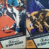 """1957: Povestiri SF, """"PITICII IN TARA LUI GULIVER"""" - I parte si a-II-a"""