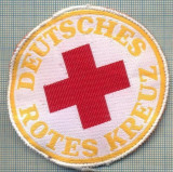 40 - EMBLEMA CRUCEA ROSIE -ROTES KREUZ- GERMANIA -MILITARA? -starea care se vede