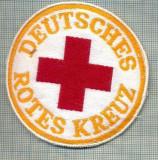 34 - EMBLEMA CRUCEA ROSIE -ROTES KREUZ- GERMANIA -MILITARA? -starea care se vede