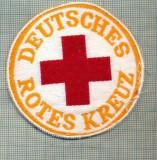 35 - EMBLEMA CRUCEA ROSIE -ROTES KREUZ- GERMANIA -MILITARA? -starea care se vede