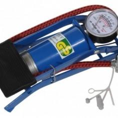 Pompa Auto - Bicicleta ( picior - mica ) - Accesoriu Bicicleta
