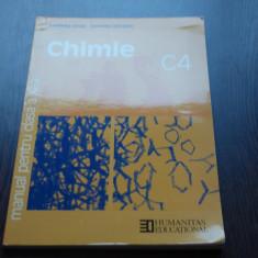 MANUAL DE CHIMIE - C4 CLS.A XI-A - LUMINITA URSEA, CORNELIA CERCASOV - Manual scolar humanitas, Clasa 11, Humanitas