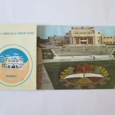 ALBUM 12 CARTI POSTALE PALATUL PIONIERILOR SI SOIMILOR PATRIEI BUCURESTI ANII 80 - Carte postala tematica, Necirculata, Printata
