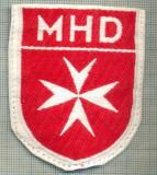 92 -EMBLEMA CRUCE MALTEZA-MHD(Malteser Hilfsdienst)-GERMANIA-starea care se vede