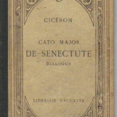 cicero - cato major * de senectute - in limba latina