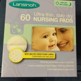Lansinoh - Tampoane pentru san, 60 buc - IMPORT UK