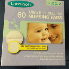 Lansinoh - Tampoane pentru san, 60 buc - IMPORT UK Altele