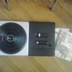 DJ Hero Turntable + Joc DJ Hero - Nintendo Wii, Kit acceosrii