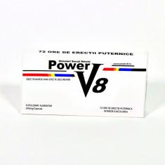 Power V8 Pastile Potenta Impotenta Ejaculare Precoce Stimulent Erectie Natural - Stimulente sexuale, Afrodisiace