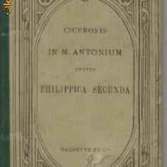 cicero - in m. antonium * oratio philippica secunda - in limba latina