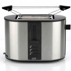Prajitor de paine Home Electric Germania, 870 W, 2 Felii, Functie reincalzire - Toaster