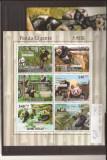 Guinea - Bissau - Panda 5252/7+bl.900, Natura, Africa