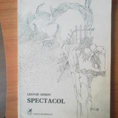 E0d Spectacol - Leonid Dimov - Carte poezie