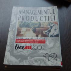 MANUAL MANAGEMENTUL PRODUCTIEI - CONSTANTIN BARBULESCU