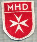 91 -EMBLEMA CRUCE MALTEZA-MHD(Malteser Hilfsdienst)-GERMANIA-starea care se vede