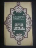 ION HELIADE RADULESCU - CRITICA LITERARA