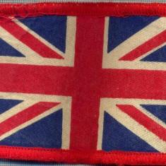 99 -EMBLEMA MANECA-DRAPELUL REGATULUI UNIT AL MARII BRITANII-starea care se vede - Uniforma militara