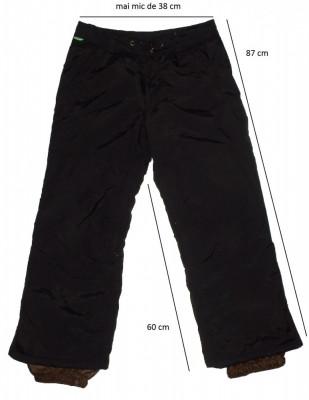Pantaloni ski schi snowboard FIREFLY protectii, ventilatii (140 cm) cod-215508 foto