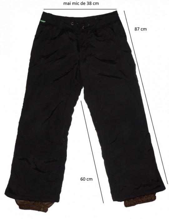Pantaloni ski schi snowboard FIREFLY protectii, ventilatii (140 cm) cod-215508 foto mare