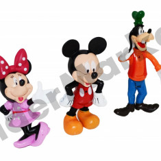 Set 3 figurine Disney Mickey Mouse - colectioneaza toate personajele !
