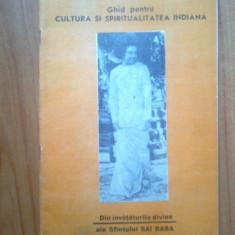 D8 Ghid pentru Cultura... - Din Invataturile divine ale Sfantului Sai Baba - Carti Hinduism