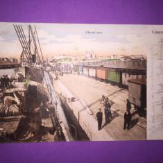 Constanta - Cheiul Nou - Carte Postala Dobrogea 1904-1918, Circulata, Fotografie