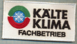 144 -EMBLEMA -KALTE KLIMA FACHBETRIEB -FIRMA DE CLIMATIZARE -starea care se vede