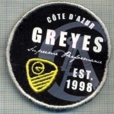 125 -EMBLEMA SPORTIVA -GREYES SUPREME PERFORMANCE EST.1998 -starea care se vede