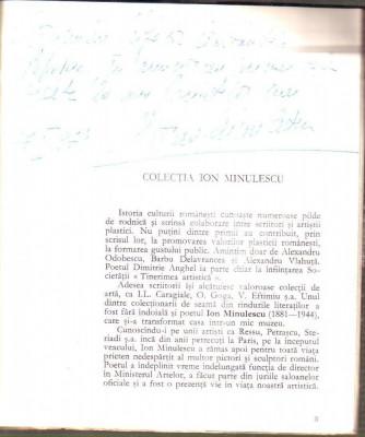 Colectia Ion Minulescu cu dedicatie foto