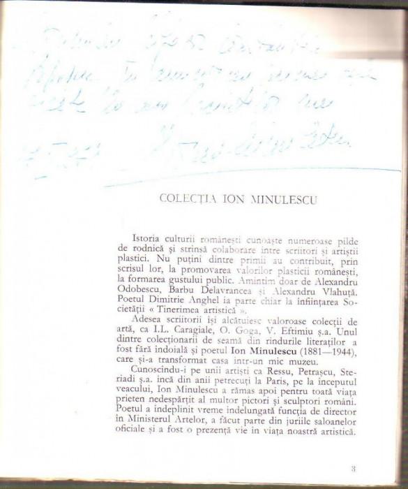 Colectia Ion Minulescu cu dedicatie