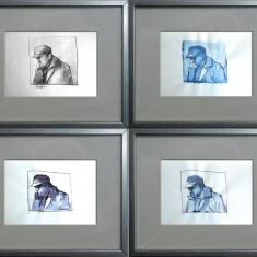 grafica, arta moderna, portrete