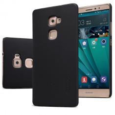 HUSA NILLKIN FROSTED SHIELD Huawei MATE S - BONUS FOLIE ECRAN - Husa Telefon Nillkin, Negru, Plastic