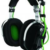 Casti Razer Blackshark Gaming Headset, negru / verde - Consola PlayStation