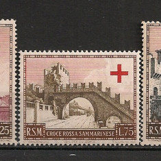 San Marino.1951 Crucea Rosie SS.955 - Timbre straine, Nestampilat