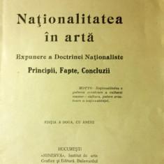 A.C.Cuza, Nationalitatea in arta, Bucuresti, 1915