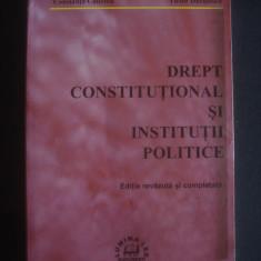 C. CALINOIU * V. DUCULESCU - DREPT CONSTITUTIONAL SI INSTITUTII POLITICE {2005} - Carte Drept constitutional