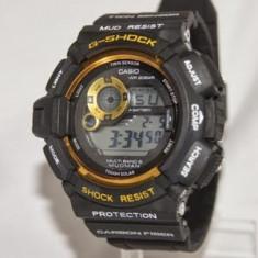 CASIO G-SHOCK GW 9300, Mudman Black Gold Edition !!! - Ceas barbatesc Casio, Mecanic-Manual