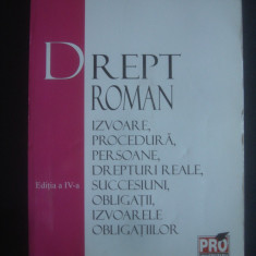 STEFAN COCOS - DREPT ROMAN * IZVOARE, PROCEDURA, PERSOANE, DREPTURI REALE {2006}