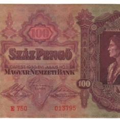 SV * Ungaria  100 PENGO  1930     XF / XF+