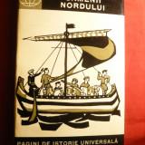 F.Lorint -Oamenii Nordului - Vikingii -Ed. Stiintifica, 1965, harta - Istorie